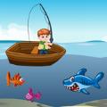 鲨鱼与钓鱼挑战赛游戏