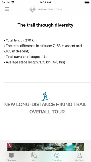 Juliana Trail app图3
