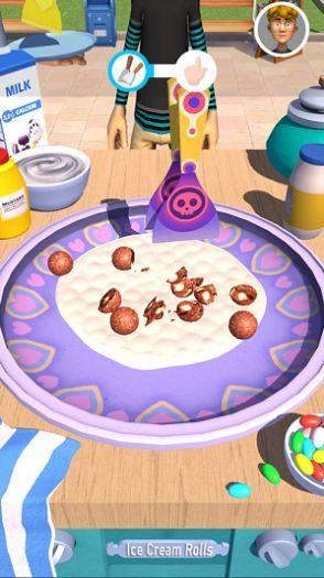 摆个地摊摊炒酸奶游戏手机中文版图片1