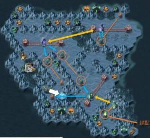 剑与远征万灵之幽路线图分享:隐藏宝箱获取位置方法一览图片2