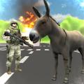 3d驴子横冲直撞模拟器游戏