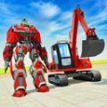 变形机器人挖掘机模拟器手机版