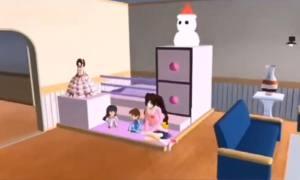 樱花校园模拟器婴儿床小宝宝怎么下载?孕妇版婴儿床婴儿车使用教程图片2