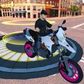 棘手的摩托车坡道游戏