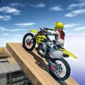 真摩托车特技赛车游戏