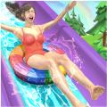 水上乐园极限滑梯3D游戏