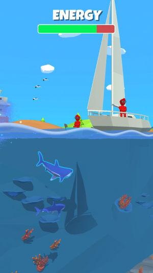 吃人鲨鱼游戏图1