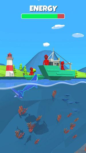 吃人鲨鱼游戏图2