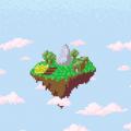 天空中的村庄游戏