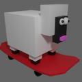 方块小羊跑游戏