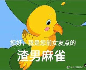 七夕布谷麻雀表情包图1