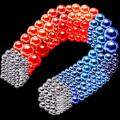 数字彩色电磁球游戏