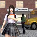 动漫学校的女孩生活模拟器游戏