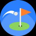 精湛的高尔夫游戏