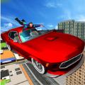 好莱坞屋顶汽车跳跃特技游戏安卓版 v1.2