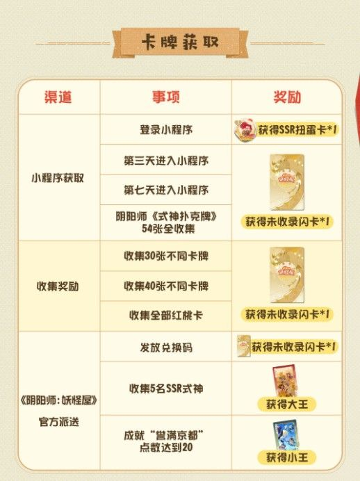 阴阳师妖怪屋扑克牌兑换码大全:9月扑克牌SSR礼包领取地址[多图]图片2