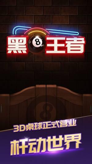桌球之路黑8王者3D游戏安卓版图片1
