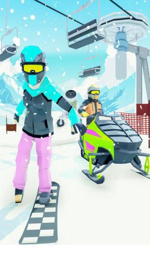 滑雪激斗赛游戏图2