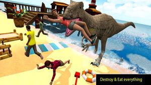 海滩恐龙大猎杀游戏图1