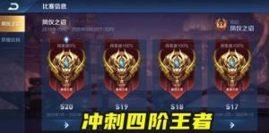 王者荣耀s21赛季段位继承表:抢先服s21赛季段位改动调整图片1