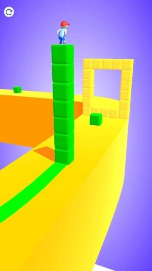 带方块跑酷游戏图1