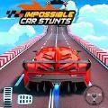 不可能的汽车特技比赛3D游戏
