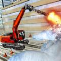 雪地挖掘机救援行动游戏安卓最新版 v1.0