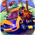 高速汽车撞车试驾游戏