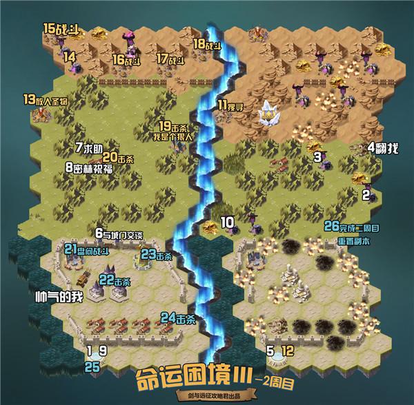 剑与远征命运困境3副本攻略:命运困境Ⅲ通关路线推荐[多图]图片2