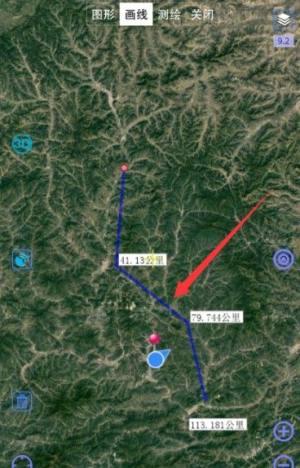 奥维互动地图卫星高清怎么使用?奥维互动地图使用方法图片5