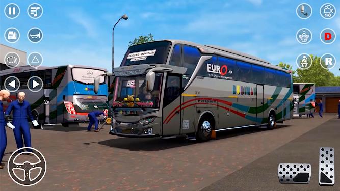 城市教练巴士停车模拟器2021手机游戏官方版图1: