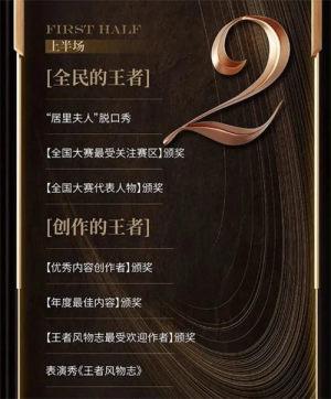 2020王者荣耀年度颁奖典礼直播回放图2