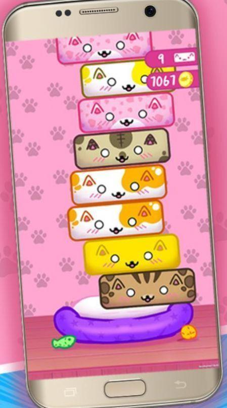 方块猫叠高高无限金币去广告破解版图片1