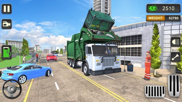 城市垃圾车模拟驾驶游戏中文版图1: