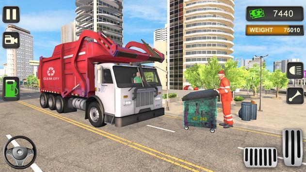 城市垃圾车模拟驾驶游戏中文版图2: