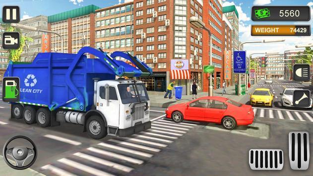 城市垃圾车模拟驾驶游戏中文版图3: