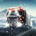 冬季卡车模拟运输