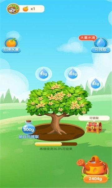 宝宝来种树游戏领红包版图片1