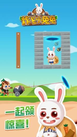 炸飞小兔兔破解版图1