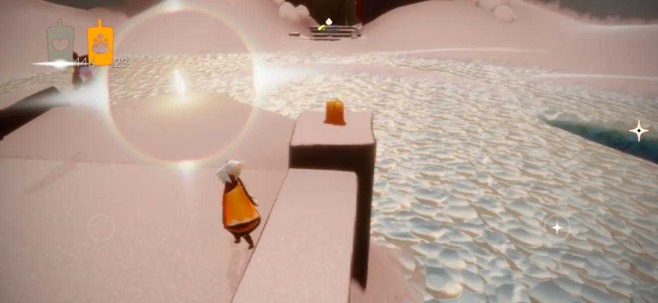 光遇3月6日任务攻略:3.6滑冰场旁冥想点和季节蜡烛位置一览[多图]图片3
