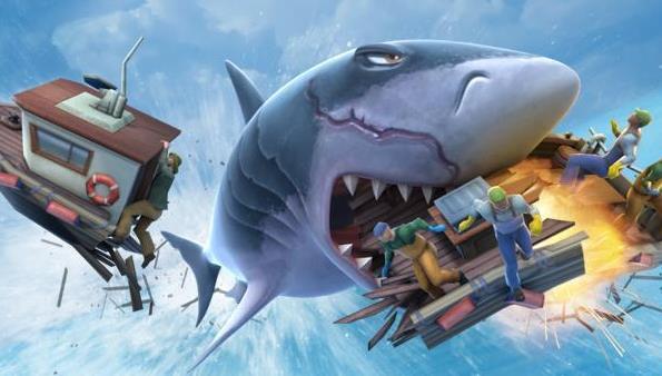 饥饿鲨进化破解版合集