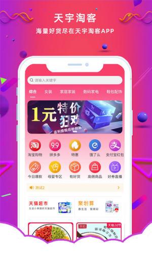 天宇淘券app圖1