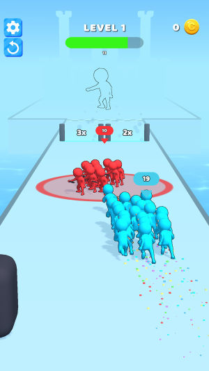 人群冲突奔跑大师最新版图3