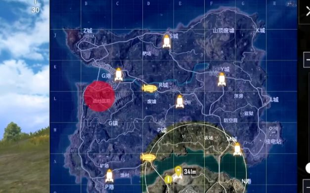 和平精英火箭在哪里?飞艇派对火箭位置大全[多图]