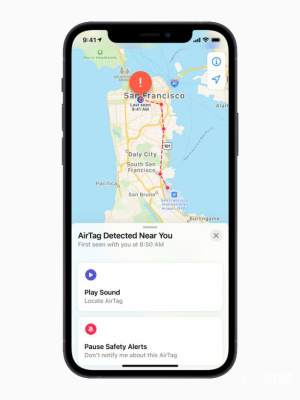 AirTag防丢器App图2