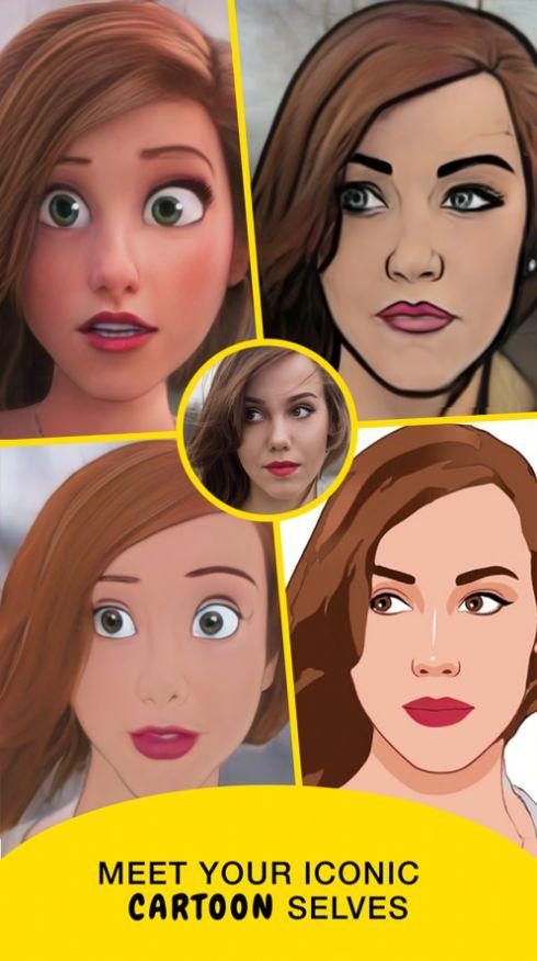迪士尼在逃公主变脸app图1: