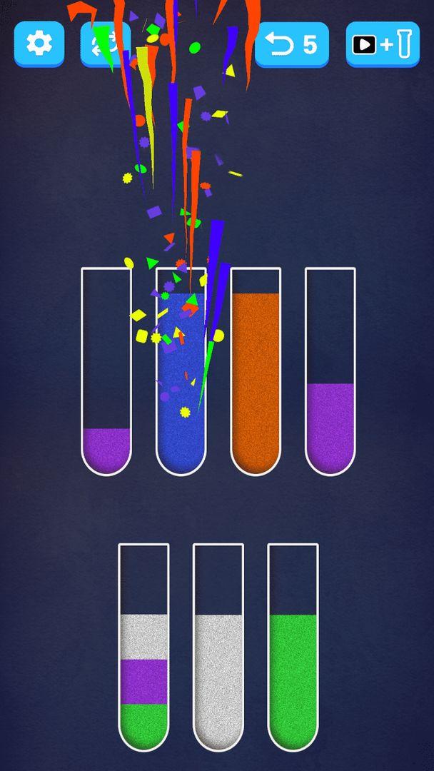 倒彩色沙子進杯子的游戲安卓版 v1.4.0截圖