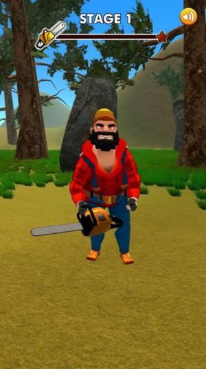 疯狂的伐木人游戏手机版安卓版图片1