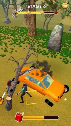 疯狂的伐木人游戏图1