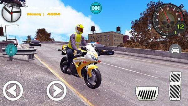 高速特技摩托车手游戏安卓最新版图片1